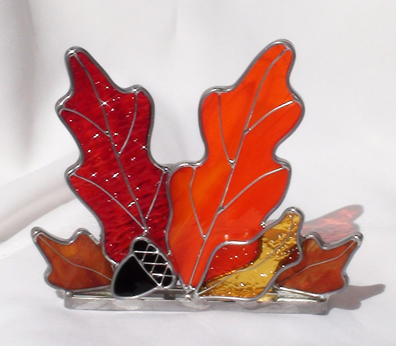 Autumn-Themed Candle Holders