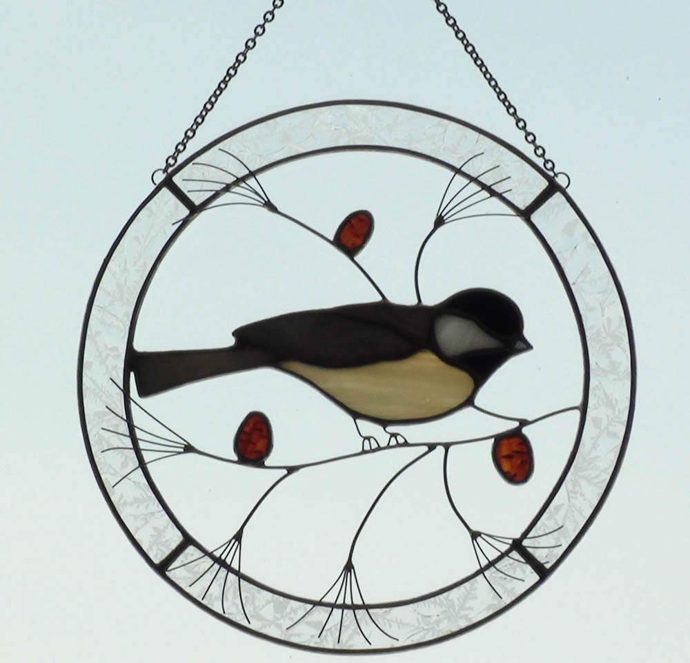 Stained Glass Bird Themed Sun Catchers Imagination Creation Julie Bubolz